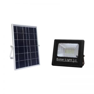 10w outdoor flood light led solar with daylight sensor